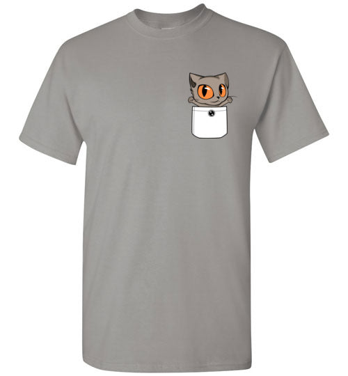 Knoet Out of Pocket Men's T-shirt British Shorthair Cat S to 2XL