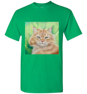 Henry King Cat Painting Men's T-shirt-T-shirt-Kucicat