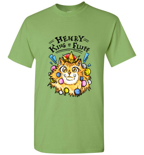 Henry King of Fluff Men's T-shirt-Vardise.com