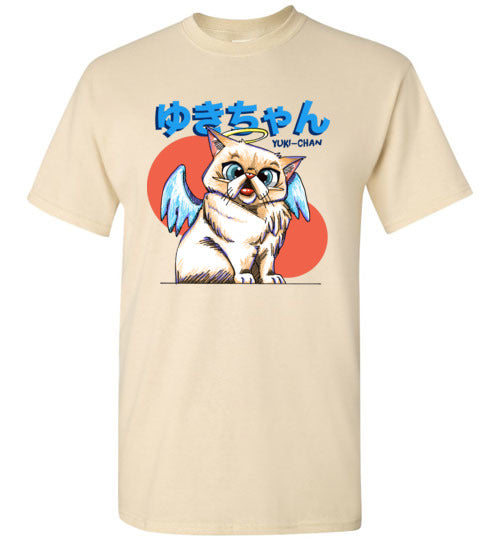 Tipperandco Cat Men's T-shirt Tribute to Yuki-Chan S to 2XL-T-shirt-Kucicat