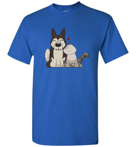 HarPURR and Cinder Men's T-Shirt
