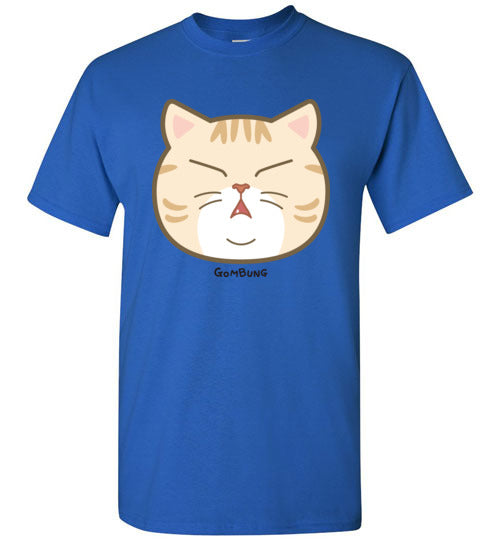 Cute Gombung Face Men's T-shirt S-2XL-T-shirt-Kucicat