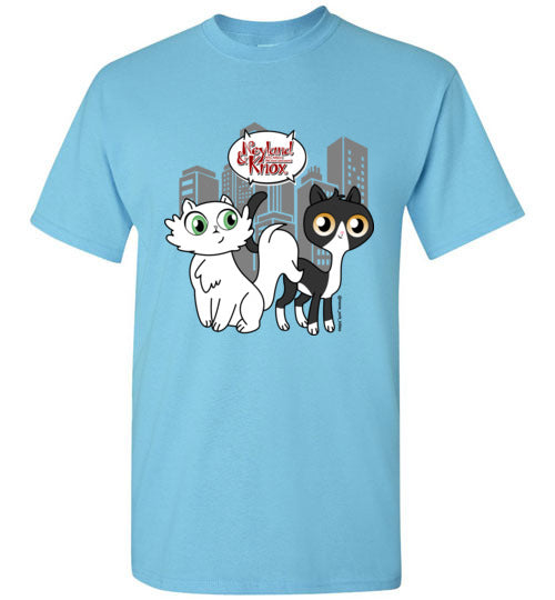 Neyland and Knox the Cat Men's T-shirt S-2XL-T-shirt-Kucicat
