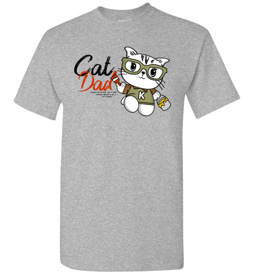 Cat Dad Men's T-shirt Special to be a Cat Daddy S-2XL-T-shirt-Kucicat