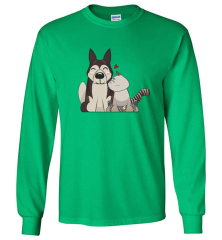 HarPURR and Cinder Long Sleeve T-Shirt