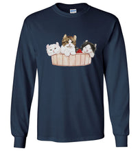 Ameria the Cat Unisex Long Sleeve T-shirt S-2XL