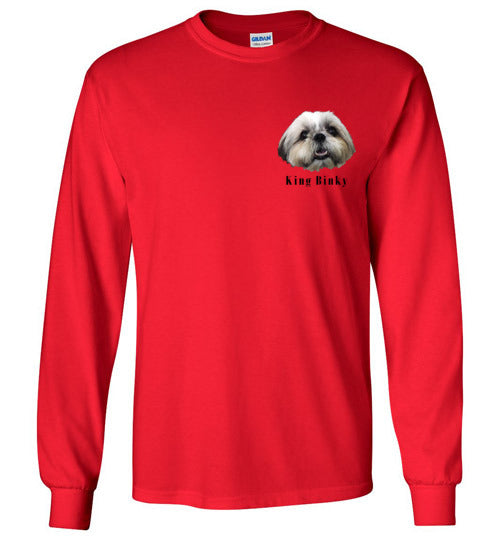 King Binky Head Long Sleeve T-Shirt