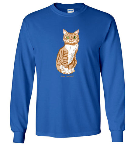 Max Max the Cat Unisex Long Sleeve T-shirt S-2XL