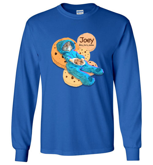 Joey Cookies Cat Long Sleeve T-shirt