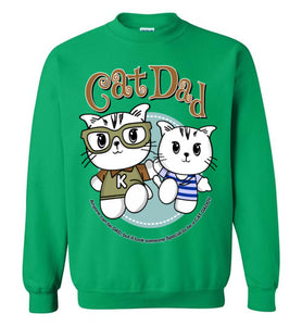 Cat Dad Unisex Sweatshirt It Took Someone Special to be a Cat Daddy S-2XL