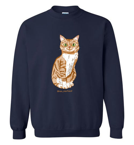 Max Max the Cat Unisex Sweatshirt S-2XL