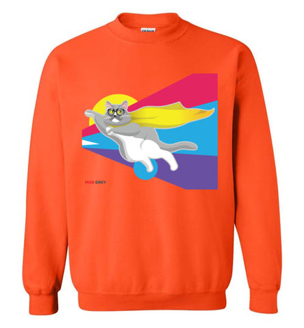 Moe Grey Flying Unisex Sweatshirt S-2XL