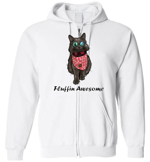 The Cat Shadow Official Zip Hoodie