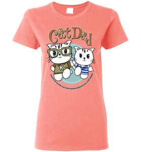 Cat Dad Women's T-shirt It Took Someone Special to be a Cat Daddy S-2XL