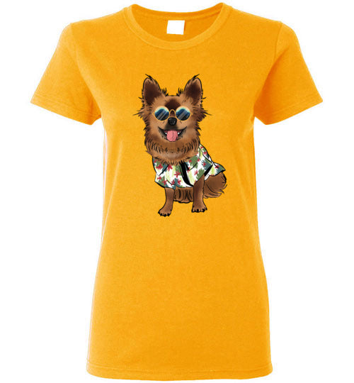 Chewie The Wookie Women's T-Shirt-Vardise.com