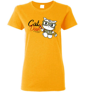 Cat Dad Women's T-shirt Special to be a Cat Daddy S-2XL