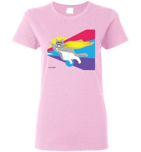 Moe Grey Flying Women's T-Shirt S-2XL