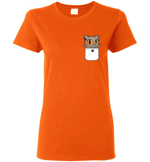 Knoet Out of Pocket Women's T-shirt British Shorthair Cat S to 2XL