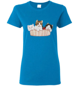 Ameria the Cat Women's T-shirt S-2XL-T-shirt-Kucicat