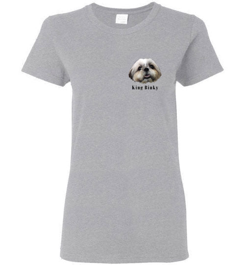 King Bingky Cute Face Women's T-shirt S-2XL-Vardise.com