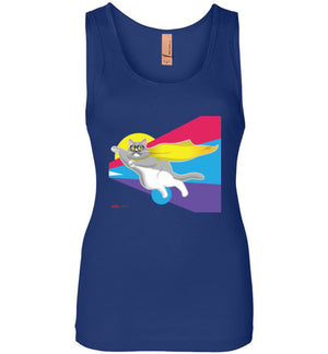 Moe Grey Flying Women's Tank Top S-2XL