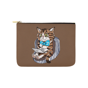 "Rexie Cat Pouch-Accessory Pouches-8"" x 6""-Rexie Cat Carry-All Pouch 8''x 6''-Kucicat"