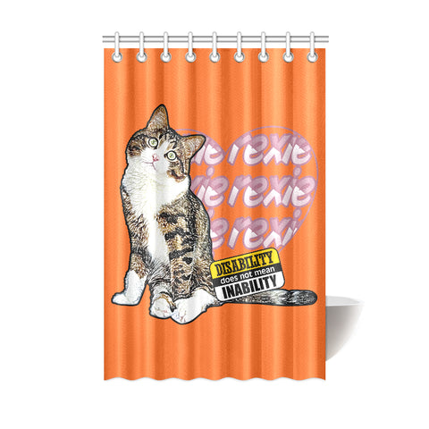 Rexie Cat Shower Curtain Collections