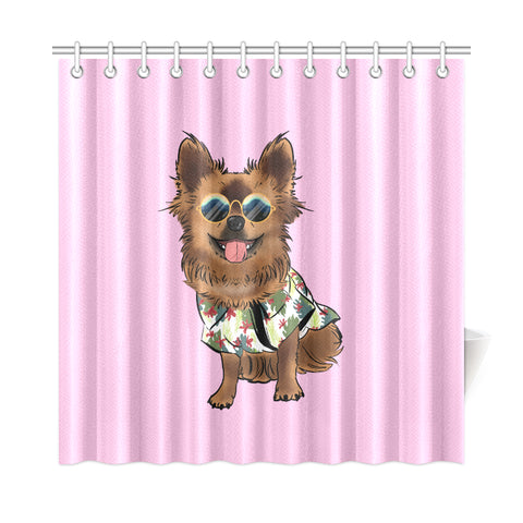 "Chewie Shower Curtain 72""x72"""