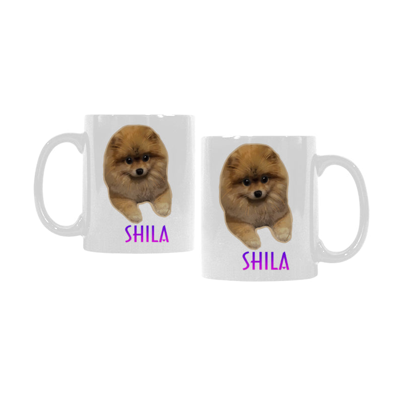 Shila White Mug(11OZ)