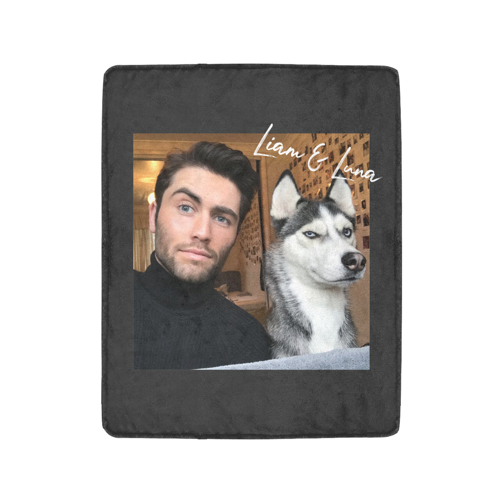"Liam and Luna Autograph Ultra-Soft Micro Fleece Blanket 40""x50"""