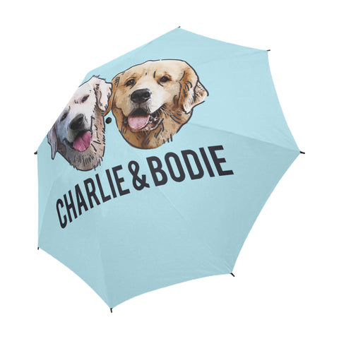 Charlie and Bodie Semi-Automatic Foldable Umbrella