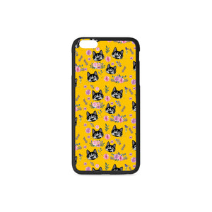 Rollie and Flowers Rubber Case for iPhone