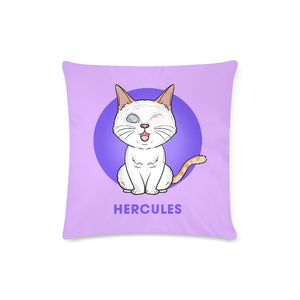 "Cute Hercules Official Zippered Pillow Case 16""x16""(Twin Sides)"
