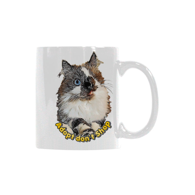 Cricket Adopt Don't Shop White Mug(11OZ)