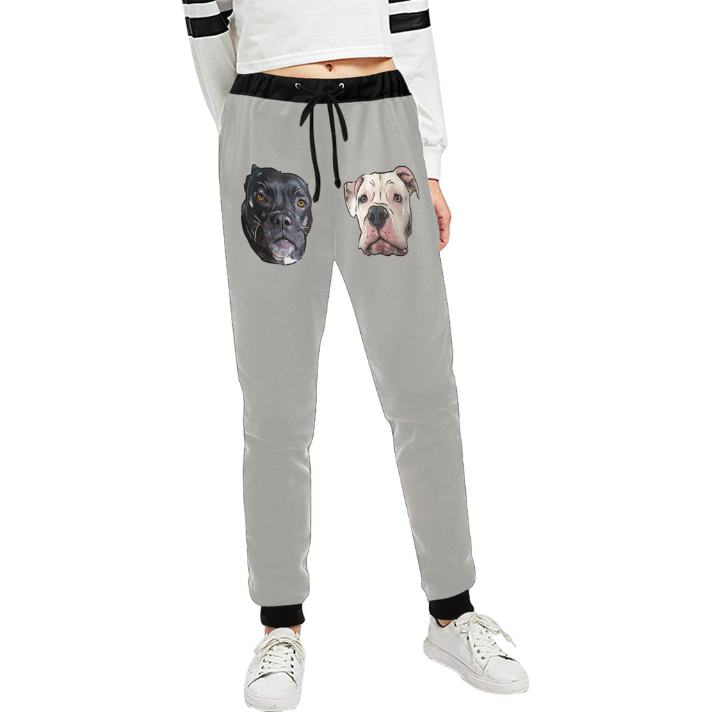 Dog Mom @Ataleof2pitties Unisex Sweatpants