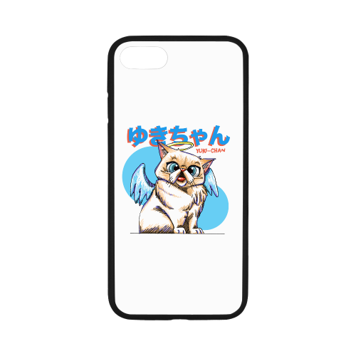 "Yuki Chan Rubber Case for iPhone-iphone case-One Size-Yuki Chan Rubber Case for iPhone 8 (4.7"")-Kucicat"