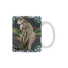 Botanicat Mugs Collection-Mugs-One Size-Botanicat Marble Jungle White Mug(11OZ)-Kucicat