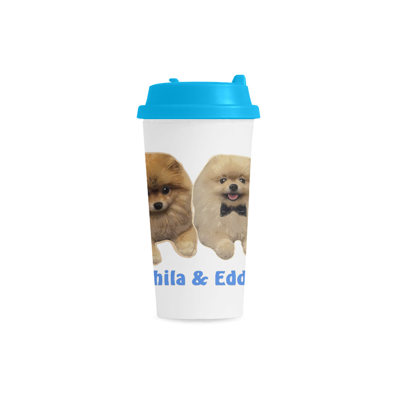 Shila & Eddie Limited Edition Double Wall Plastic Mug