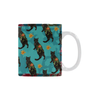 Botanicat Mugs Collection-Mugs-One Size-Botanicat Kuro White Mug(11OZ)-Kucicat