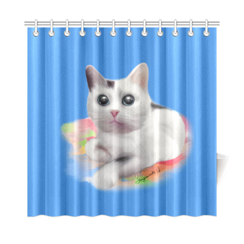 "Sempai Arts Caca Shower Curtain 72""x72"""