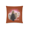 "12catslady Custom Zippered Pillow Case 16""x16""(Twin Sides)-Pillow Case 16""x16""-One Size-Kucicat"