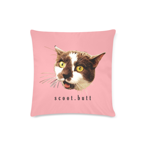 Fierce Scoot Butt Custom Zippered Pillow Case 16