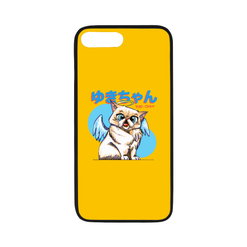 "Yuki Chan Rubber Case for iPhone-iphone case-One Size-Yuki Chan Rubber Case for iPhone 7 plus (5.5"")-Kucicat"