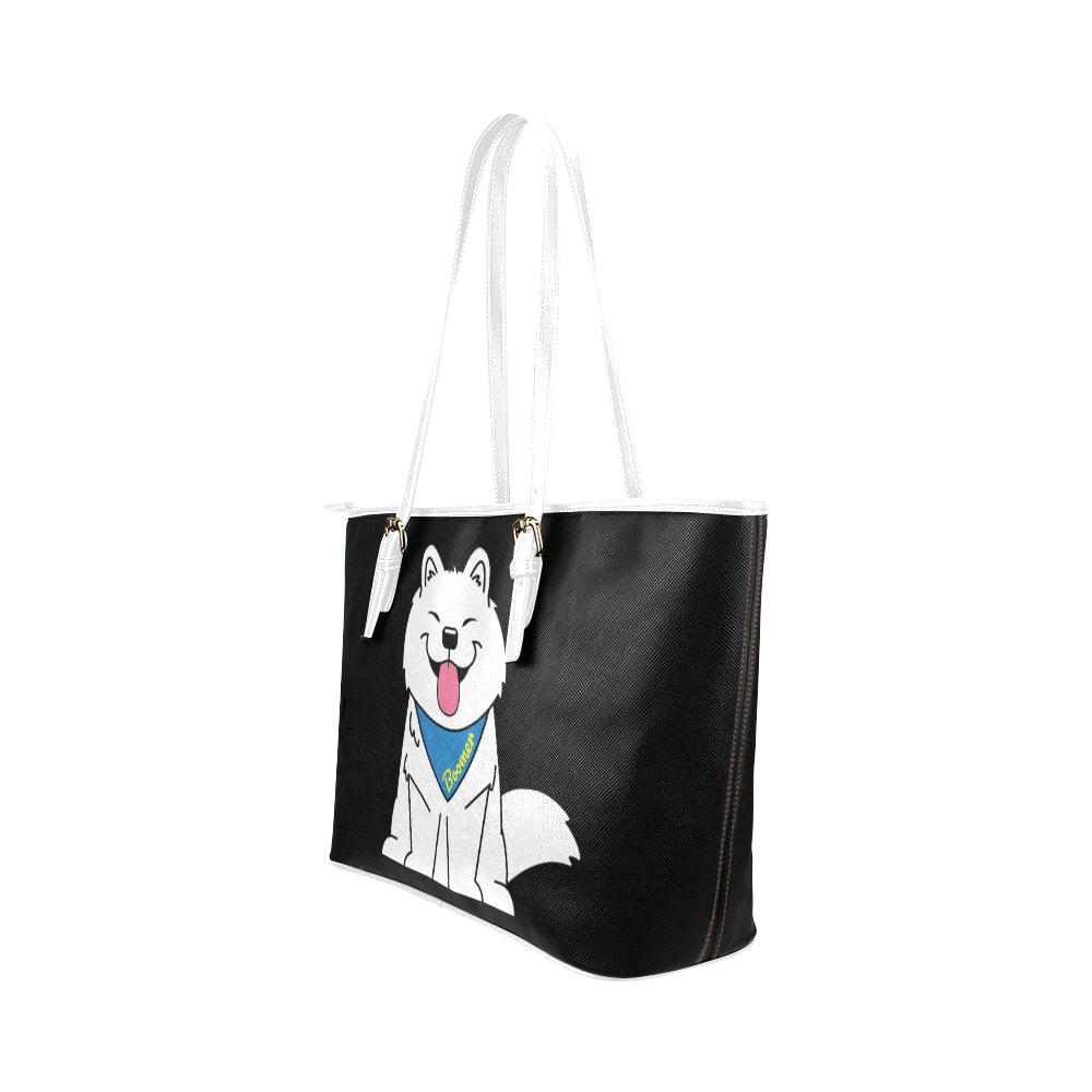 Boomer Leather Tote Bag/Small-Kucicat