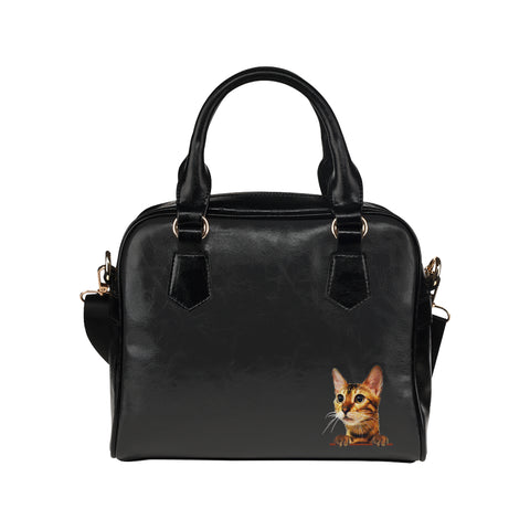 Simba the Bengal Shoulder Handbag