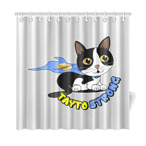 "Tayto Strong Shower Curtain 72"" x 72"""