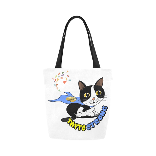 Tayto Strong Canvas Tote Bag-Canvas Tote Bag (1657)-One Size-Kucicat