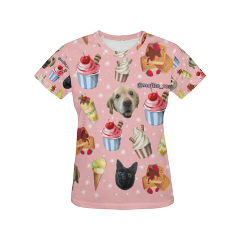 Mojito Rose Family Official Women's All Over Print T-Shirt