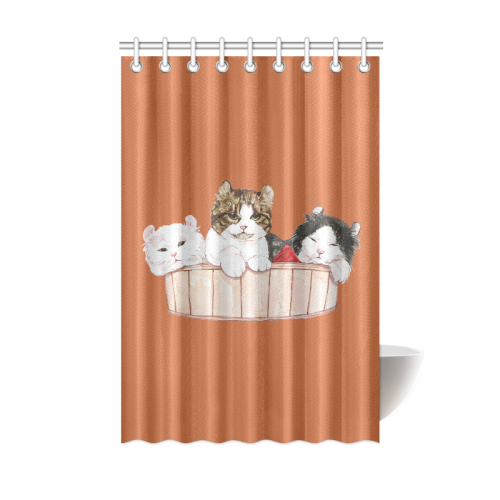 Ameria the Cat Shower Curtain 48