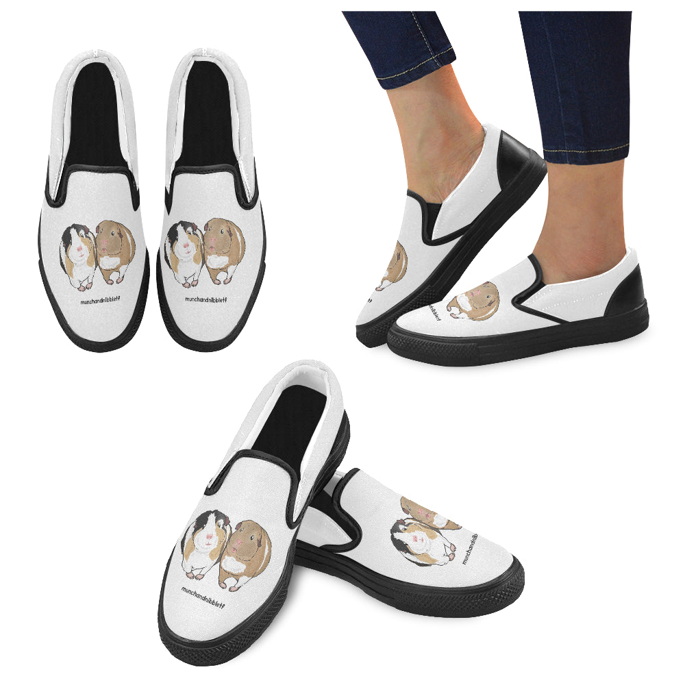Munch and Nibble Official Women's Slip-on Canvas Shoes